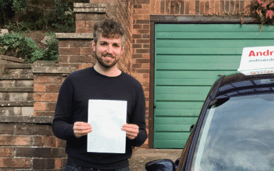 Paul's path to being a fully qualified driving instructor