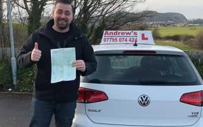 Part 2 driving test passed in North Wales